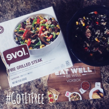 Photo of Evol Fire Grilled Steak Bowl - 9 oz uploaded by Jamie N.
