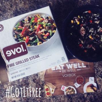 Evol Fire Grilled Steak Bowl - 9 oz uploaded by Jamie N.