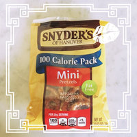 Snyder's of Hanover 100 Calorie Pack Mini Pretzels - 10 CT uploaded by Emre Y.