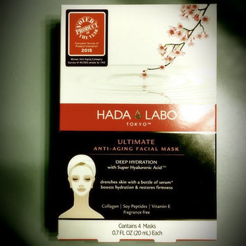 Hada Labo Tokyo Ultimate Anti-Aging Facial Mask, .7 fl oz uploaded by Angela E.