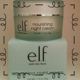 E.L.F. Skincare Nourishing Night Cream 1.76 oz uploaded by Lena J.