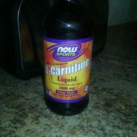 NOW Sports L-Carnitine Liquid uploaded by Meriah W.