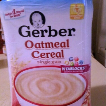 Photo of Gerber® Oatmeal Cereal 8 oz. Canister uploaded by Anita D.