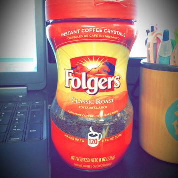 Photo of Folgers Classic Roast Instant Coffee Crystals uploaded by Reilly B.