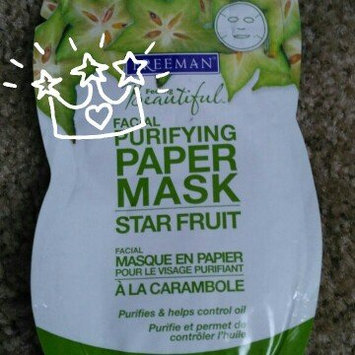 Photo of Freeman Star Fruit Facial Purifying Paper Mask, 0.5 oz uploaded by TRACEY H.