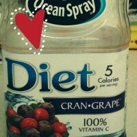 Photo of Ocean Spray Diet Cran•Grape® Cranberry Grape Juice Drink uploaded by Melissa O.