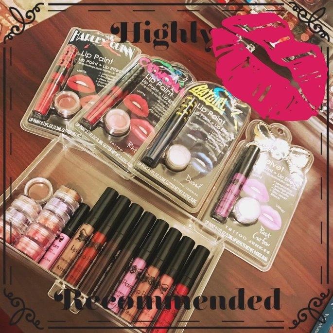 Tattoo Junkee Wicked Lilac Lip Paint & Glitter Set, 2 pc uploaded by Sheila F.