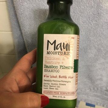 Photo of Maui Moisture Thicken & Restore Bamboo Fibers Shampoo uploaded by Leslie M.