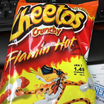 Cheetos Flamin' Hot Crunchy Cheese Flavored Snacks uploaded by Adelyn J.
