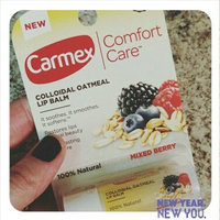 Carmex Comfort Care Mixed Berry Colloidal Oatmeal Lip Balm, .15 oz uploaded by K.T. B.