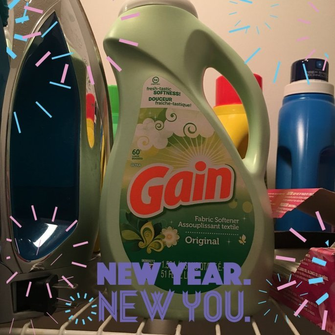 Gain® Original Liquid Fabric Softener 100 fl. oz. Plastic Jug uploaded by Sharonda P.