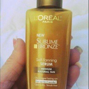 Photo of L'Oréal Paris Sublime Bronze Self-Tanning Serum uploaded by Leah H.