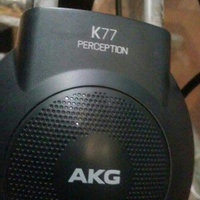 Akg. AKG K77 STUDIO HEADPHONES FULL SIZE CLOSED BACK uploaded by exzor l.