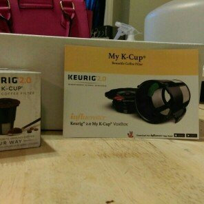 Photo of Keurig 2.0 My K-Cup uploaded by Sandyell S.