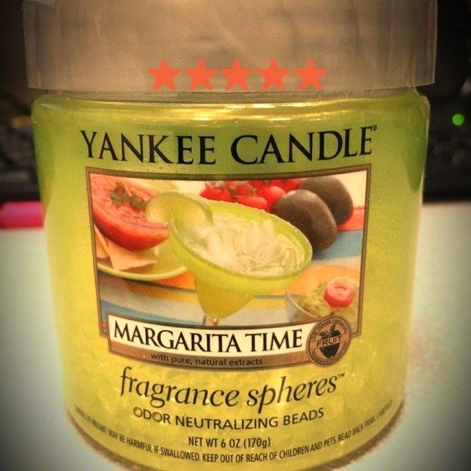 Yankee Candle Margarita Time Fragrance Spheres Odor Neutralizing Beads, Fruit Scent [Fragrance Spheres Odor Neutralizing Beads] uploaded by Kristen B.