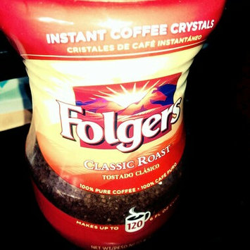 Photo of Folgers Classic Roast Instant Coffee Crystals uploaded by Erma E.
