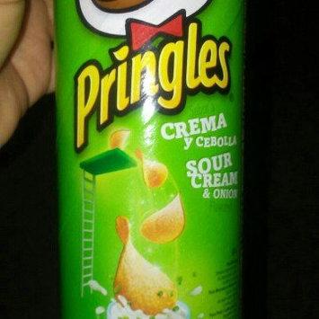 Pringles Potato Crisps Sour Cream & Onion uploaded by Yarimell R.