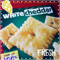 Sunshine Cheez-It Baked Snack Crackers White Cheddar uploaded by Barbara G.