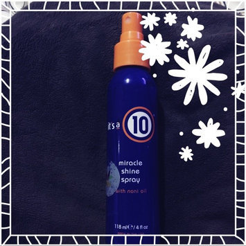 Photo of Ny Value Club Ltd Miracle Shine Spray, with Noni Oil, 4 fl oz (118 ml) uploaded by Rainbow O.