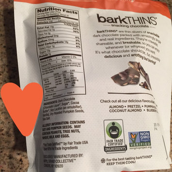 barkTHINS Dark Chocolate Pumpkin Seed with Sea Salt uploaded by Jessica S.