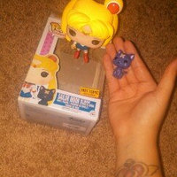 Funko POP! Animation Sailor Moon with Moon Stick & Luna Vinyl Figure uploaded by Nathalia D.