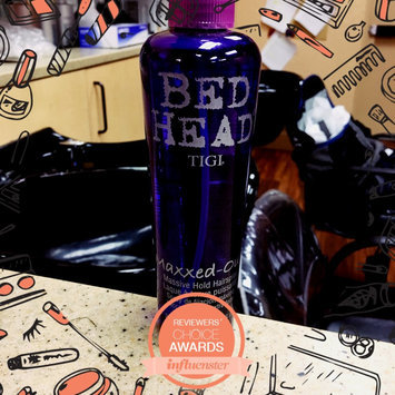 Photo of TIGI Bed Head Maxxed-Out Massive Hold Hairspray uploaded by JORGE D.