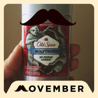 Old Spice Wild Collection Invisible Solid Anti-Perspirant & DeodorantWolfthorn Scent uploaded by Carrie E.