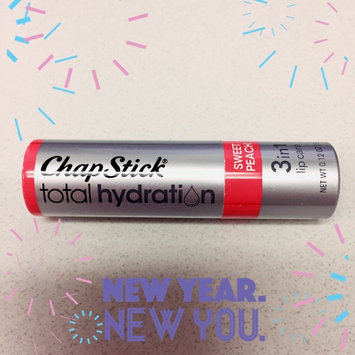 Photo of ChapStick® Total Hydration Sweet Peach 3-in-1 Lip Care 0.12 oz. Carded Pack uploaded by Chelsea R.
