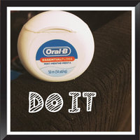 Oral-B Essential Floss Waxed Dental Floss uploaded by Mayra Z.