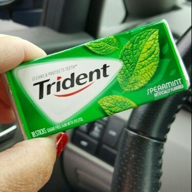 Trident Spearmint Sugar Free Gum uploaded by Shannon P.