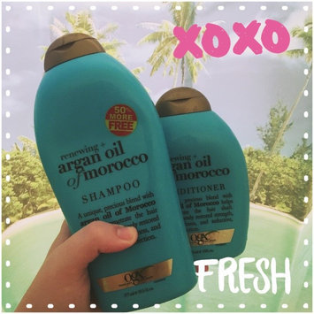 OGX Renewing Argan Oil Of Morocco Shampoo uploaded by Makayla R.