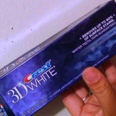 Crest 3D White Toothpaste Artic Fresh Icy Cool Mint uploaded by Lindsey R.