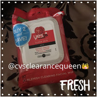 Yes To Grapefruit Facial Wipes Correct & Repair - 25 CT uploaded by Marisela A.