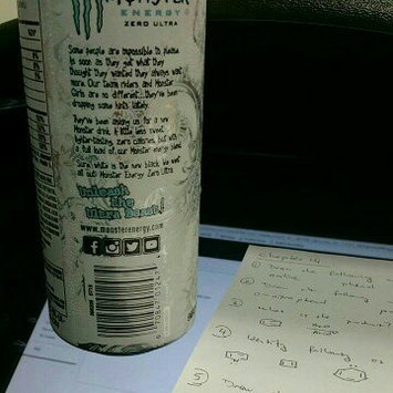Monster Zero Ultra Energy Drink uploaded by Nadelyn P.