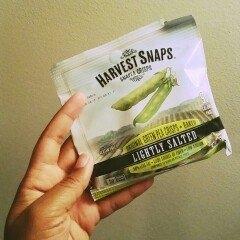 Harvest Snaps Snapea Crisps Lightly Salted uploaded by Kinaisha R.