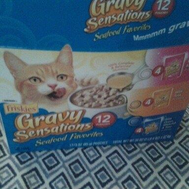 Friskies  Gravy Sensations Cat Food uploaded by dakota h.
