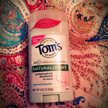 Photo of Tom's of Maine Women's Natural Powder Antiperspirant Stick Deodorant uploaded by Hannah H.
