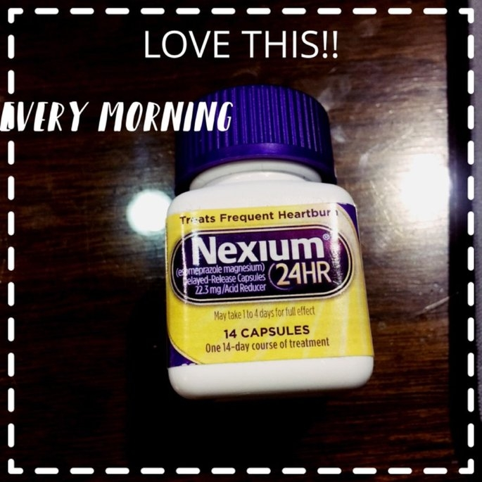 Nexium 24HR Capsules - 14 Count uploaded by Tara S.