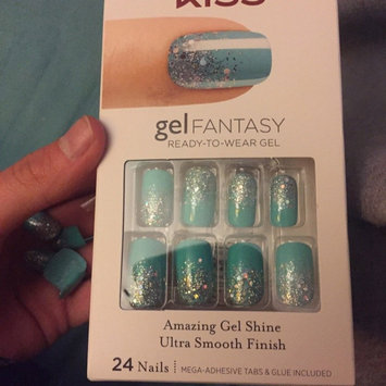Photo of Kiss Gel Fantasy Nails Painted Veil, 24 ct - KISS NAIL PRODUCTS, INC. uploaded by Riza R.