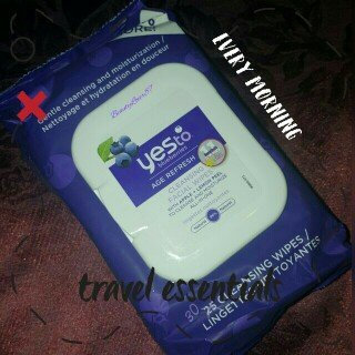 Photo of Yes To Blueberries Cleansing Facial Wipes uploaded by Monique B.