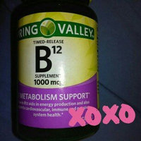 Spring Valley Natural Timed Release Vitamin B12 Tablets uploaded by Nikki B.