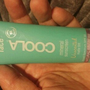 COOLA Face SPF 30 Mineral Sunscreen Unscented Matte Tinted Natural BB Cream uploaded by Kimberly B.