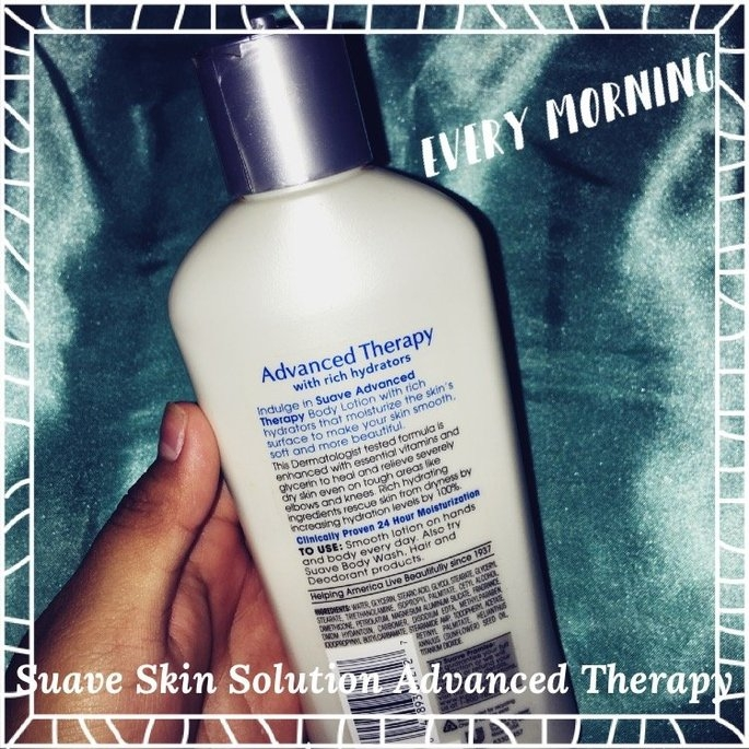 Suave® Skin Solutions Advanced Therapy Body Lotion uploaded by Avery M.