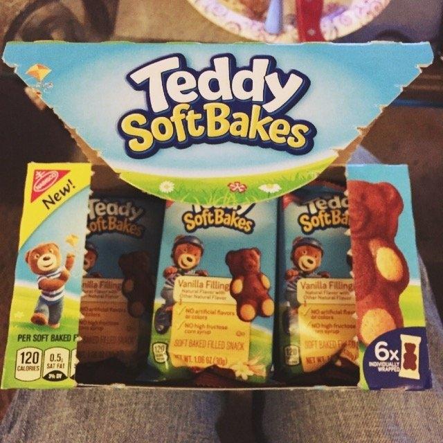 Nabisco Teddy Soft Bakes Vanilla Filling 6ct 6.36 oz uploaded by Felecia F.