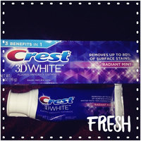 Crest 3D White Whitening Toothpaste Radiant Mint uploaded by Patience R.