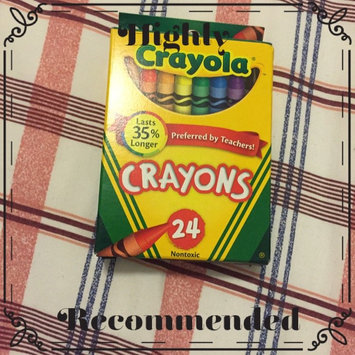 Photo of Crayola 24ct Crayons uploaded by Kenia C.