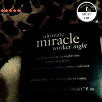 philosophy ulimate miracle worker night, 2 oz. uploaded by michelle p.