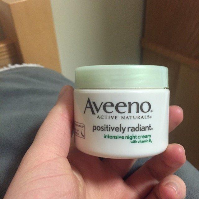 AVEENO® POSITIVELY RADIANT® Intensive Night Cream uploaded by Lauren S.