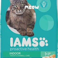 Iams Proactive Health Indoor Weight & Hairball Care Formula uploaded by Wendy W.