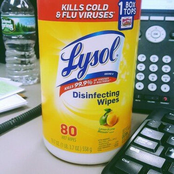 Photo of Lysol Disinfecting Wipes - Lemon uploaded by Cassandra D.